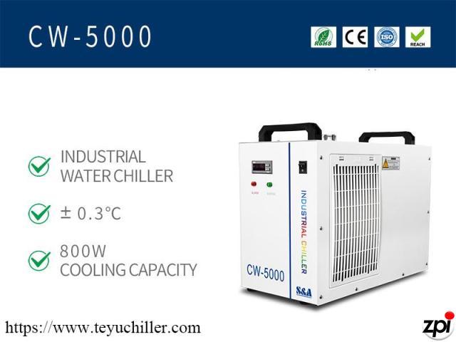 Răcitor de apă mic CW5000 pentru tăietorul cu laser CO2 - 1